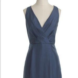 J Crew Liza Dress in Slub Silk